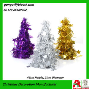 Mettallic Tree of Christmas Tinsel Garland