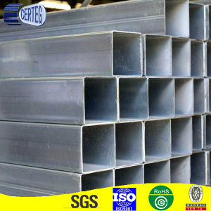 Thailand square gi steel pipe, pregalvanized pipes and tubes pictures & photos