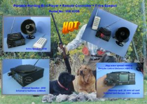 Bird Decoy Caller with Remote Control&Timer for Outdoor Activity (620B) pictures & photos