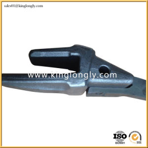Forged Excavator Bucket Teeth Adapter Spare Parts for Construction Machinery pictures & photos