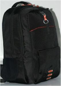 Polyester Laptop Solar Backpack with Solar Panel