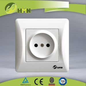Hermano High Quality Switch Socket Supplier 1 Gang Russian Socket pictures & photos