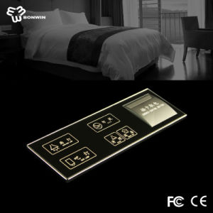 Easy Operation Electrical Glass Touch Screen Keypad Light Switch with LED Backlight Indication pictures & photos
