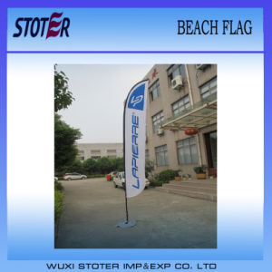 Custom Display Polyester Feather Swooper Flag pictures & photos