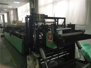 Second Hand Three Side Sealing Plastic Film Bag Making Machine