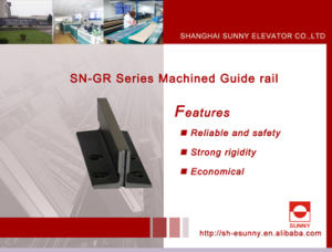 Steel Guide Rail for Elevator (Machined guide rail) pictures & photos