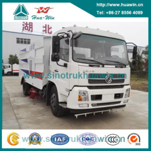 Dongfeng 4X2 Sanitation Road Sweeping Truck pictures & photos