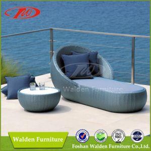 High Quality Outdoor Rattan Garden Sun Lounger (DH-9563) pictures & photos