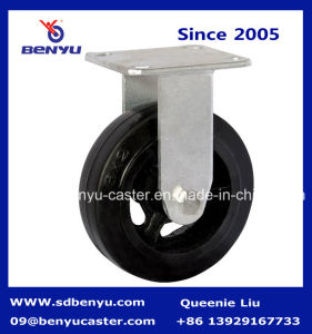 Heavy Duty Roller Bearing Mold on Rubber Caster Side Break pictures & photos