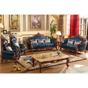 Wooden Sofa for Living Room Furniture (D532) pictures & photos