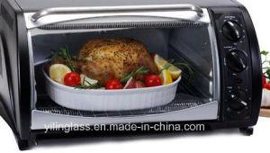 4mm Bent Tempered Oven Door Glass for Door Panel Screen pictures & photos