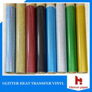 Self-Adhesive Reflex Glitter Heat Transfer Vinyl for Cotton pictures & photos