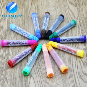 Multi Plastic Water Color Marker Washable with Non-Toxic Ink pictures & photos