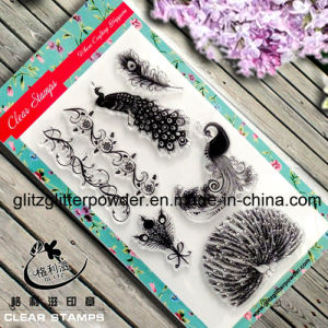 Beautiful Peafowl Clear Stamps