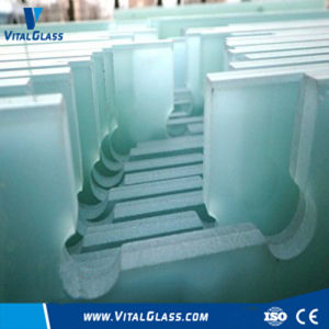 Clear Water Cutter Laminated Glass for Building Glass/Tempered Glass pictures & photos