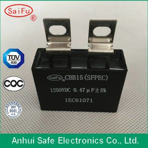 Cbb15 Fan Capacitor 4kv with Oil Metallized Polypropylene Film pictures & photos