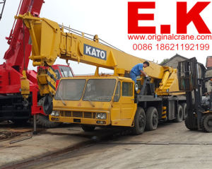 Original Japanese Hydraulic 50ton Kato Truck Crane (NK500E) pictures & photos