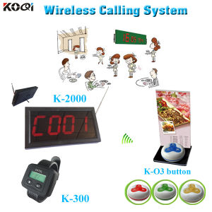 Paging System with Menu Holder Beeper Buzzer Restaurant Different Types of Buzzers pictures & photos