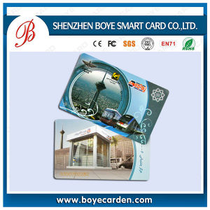 PVC IC Card with Laser Code and Encoding pictures & photos