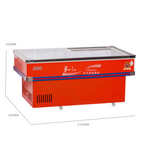 Top Brand Compressor Refrigerated and Frozen Seafood Freezer pictures & photos