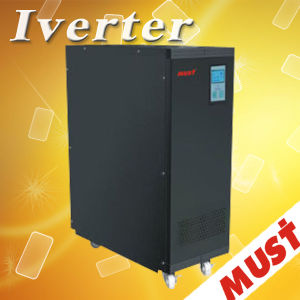 High Frequency 6kVA/10kVA ISO Online UPS pictures & photos