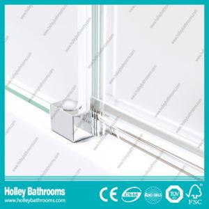Hinger Door Ground Glass Single Door Selling Simple Steam Shower Room (SE715M) pictures & photos