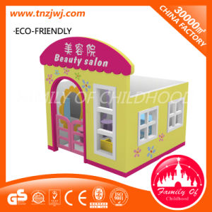 Commercial Indoor Cheap Small House Wood Playhouse for Sale pictures & photos