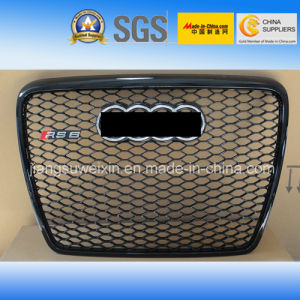 "Silver Car Front Grill (Chromed Logo) for Audi RS6 2005-2012"" pictures & photos"