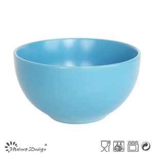 Blue Ceramic Stoneware Round Bowl pictures & photos