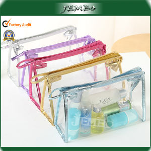 PVC Transparent Clear Waterproof Fashion Travel Cosmetic Bag pictures & photos