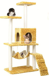 Cat Scratcher Toy Bed Furniture House Climber Cat Tree pictures & photos