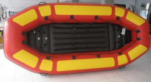 Children Kid Toy PVC Rafting Inflatable Boat with Airpillow pictures & photos