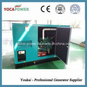 40kw/50kVA Silent Power Electric Engine Diesel Generator Set pictures & photos