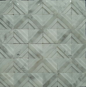 Special Design Building Material Natural Stone Mosaic Tile (FYSL162)