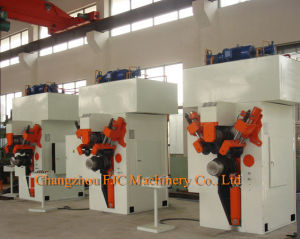 "Agricultural Tubeless Wheel Rim Manufacturing Roll Forming Machine Size From 17.5""-24.5"" Diameter pictures & photos"