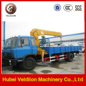 Dongfeng 6.3 Ton Truck with Crane (China brand crane) pictures & photos