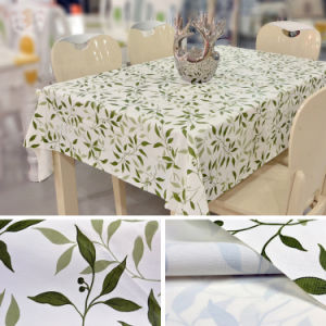 2016 Elegant Design Party Printed Custom PVC Table Cloth pictures & photos