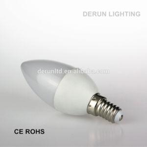 Chandelier C35 C37 E14 E27 Plastic Aluminum Epistar SMD2835 3W 4W 5W 6W 7W LED Candle Bulb pictures & photos