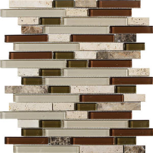 Natural Stone Mosaic /Strip Marble Mosaic Tile / Marble Mosaic pictures & photos