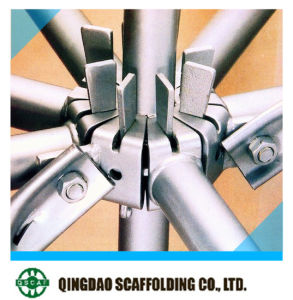 Q345 Ringlock Scaffolding; All-Round Scaffold with High Quality pictures & photos