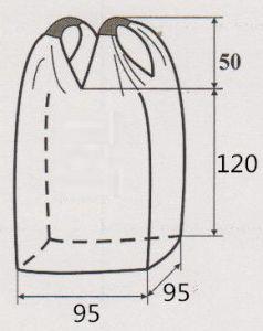 Circular FIBC Bag Jumbo Bag/Super Sacks for Packing Sand pictures & photos