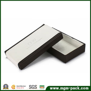 New Luxury Wooden PU Leather Watch Box pictures & photos