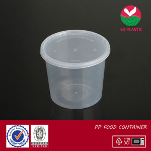 Round Plastic Food Container (sk-30 with lid) pictures & photos