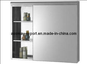 Aosmay Stainless Steel Mirror Cabinet 370
