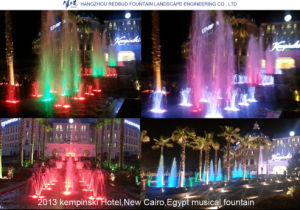 2013 Kempinski Hotel Music Fountain in Cairo, Egypt pictures & photos
