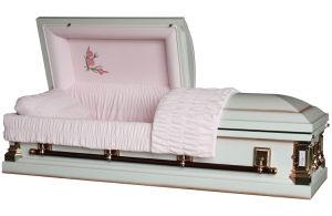 18 Ga Steel Primrose Casket for USA Market Funeral Casket pictures & photos