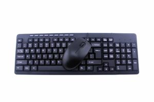 Keyboard and Mouse Combo with Hot Keys (KMW-108) pictures & photos