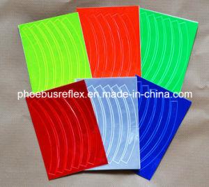 En13356 Reflective Motorbike Sticker/Decal 10cm X 10cm pictures & photos