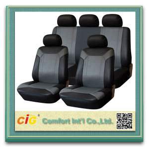Cheap Competitive Price Custom Printed PU Leather Car Seat Covers pictures & photos