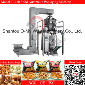 Factory Supply Automatic Feeding Puffed Food Vertical Packing Machine pictures & photos